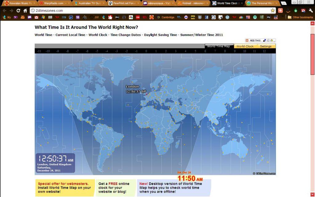 10 siti con ora esatta e fusi orari per ogni citt del mondo