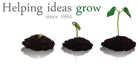 Helping Ideas Grow - through web technology