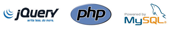 jQuery, PHP, and MySQL are some of the key technologies upon which the XDe is built