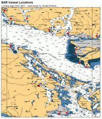 Screenshot of Vessel Base Locations