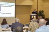 PawPrint President Scott Baker launches the SAR Management System